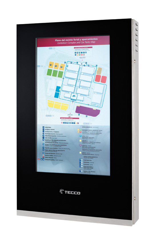 Tecco: Diseño de Producto, Tótems interactivos