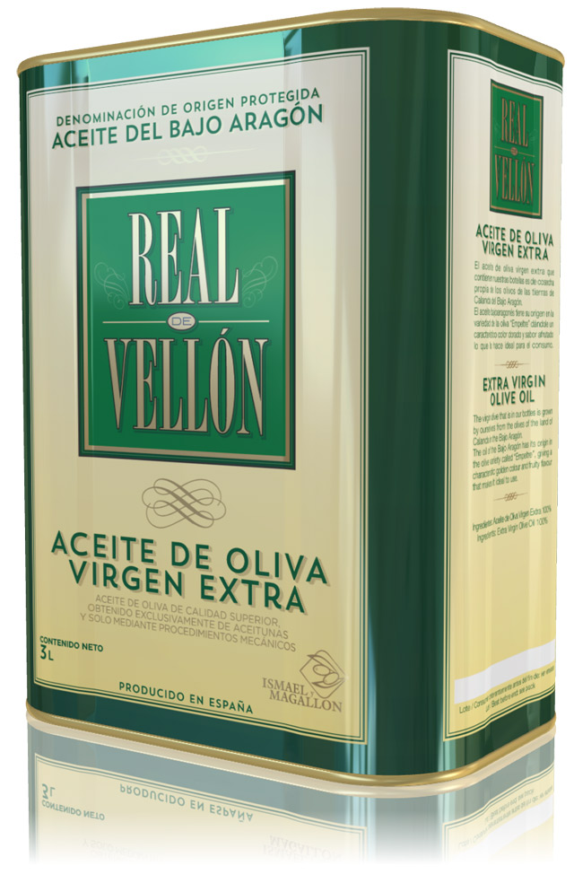 Diseño de marca y Packaging, Real de Vellón.