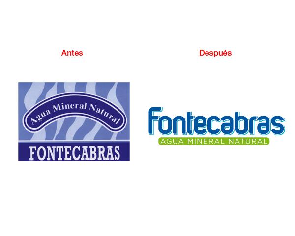 Rediseño de marca, diseño gráfico para Fontecabras