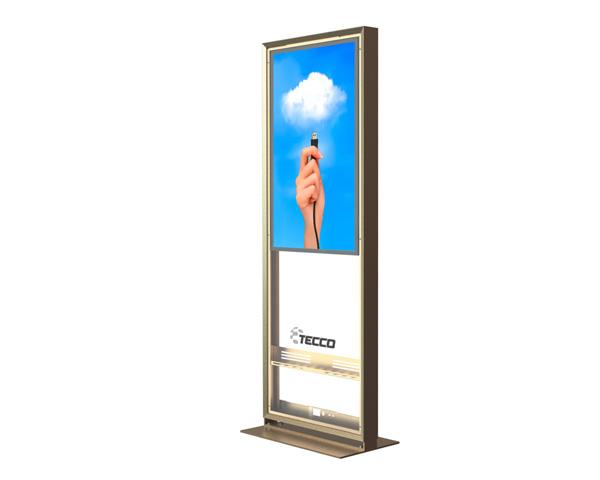 TECCO: Tótem interactivo FlatSign, Diseño Industrial