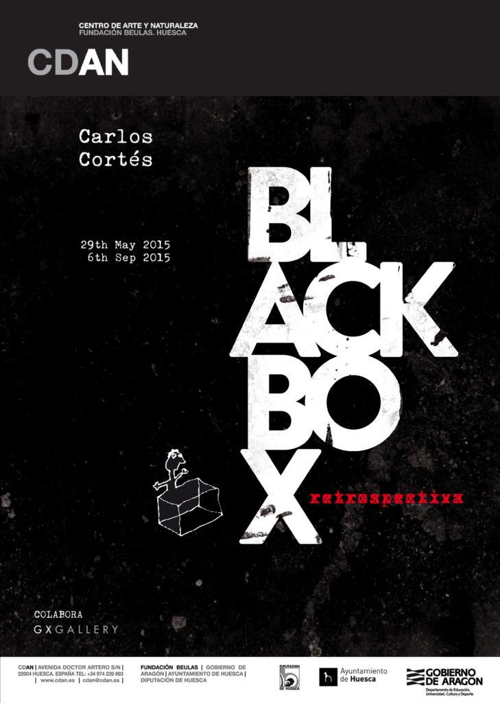 Diseño editorial, Black Box de Carlos Cortés