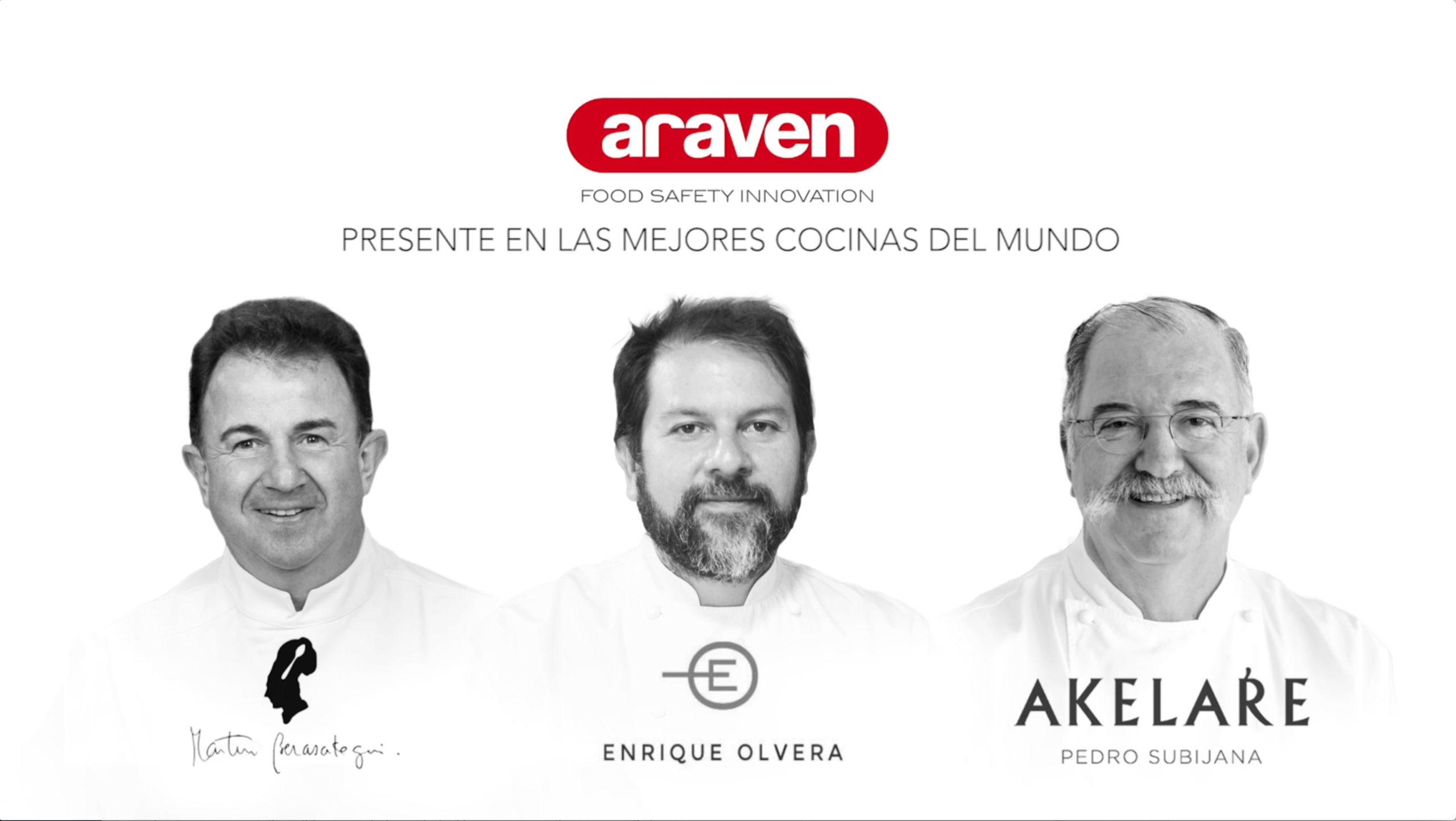Video resumen 3 Chefs para Araven