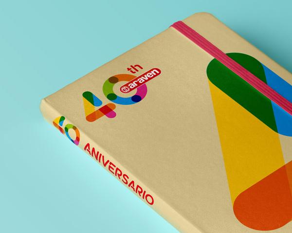 40 aniversario de Araven, Diseño de marca.