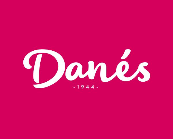 Pastissería Danés, diseño de marca de alimentación