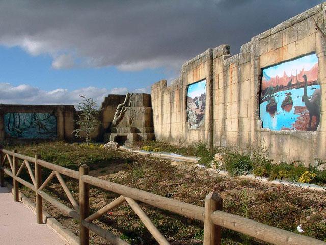 Dinópolis Teruel: Diseño del concepto