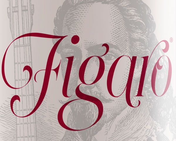 Figaro. Packaging para vino de exportación.