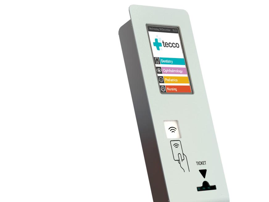 Kiosco interactivo para TECCO