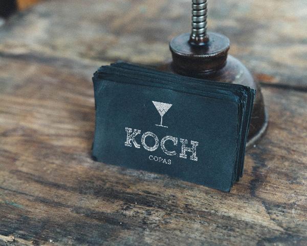 Identidad corporativa restaurante Cellisca y Koch