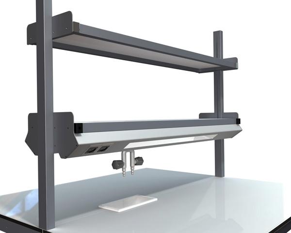 Innovador diseño para mesas de laboratorio