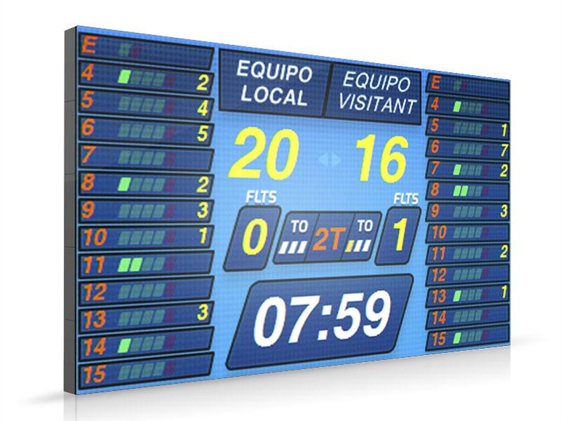 Diseño de Interface para pantallas LED de MONDO