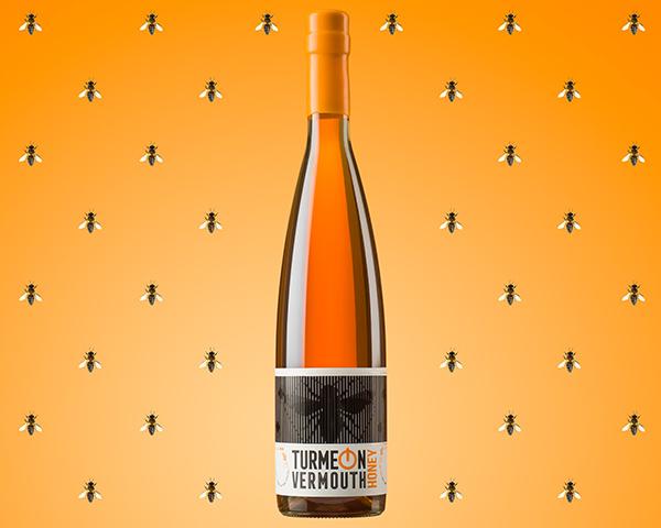 Vermouth Turmeon Honey. Rediseño de marca y packaging