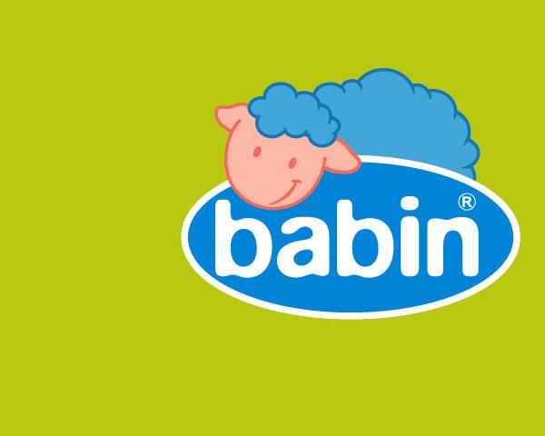 Babin, artículos y productos infantiles: diseño de marca