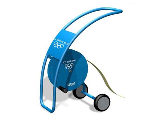 MONDO. Enrollador de cinta para Juegos Olímpicos ATHENS 2004