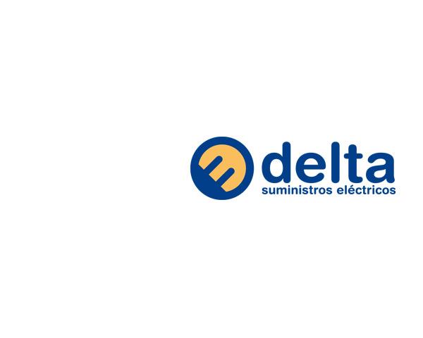 Delta suministros electónicos: diseño de marca