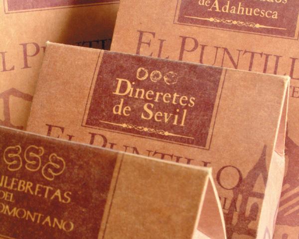 Repostería artesana El Puntillo: Diseño de envases