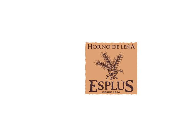 Esplus, horno de leña: diseño de marca