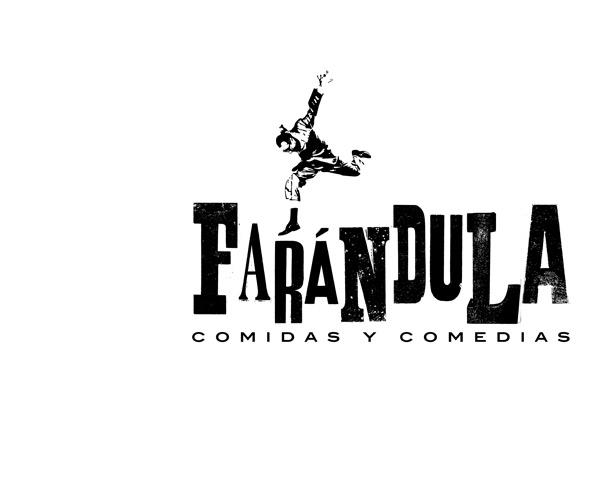 Farándula restaurante: diseño de marca