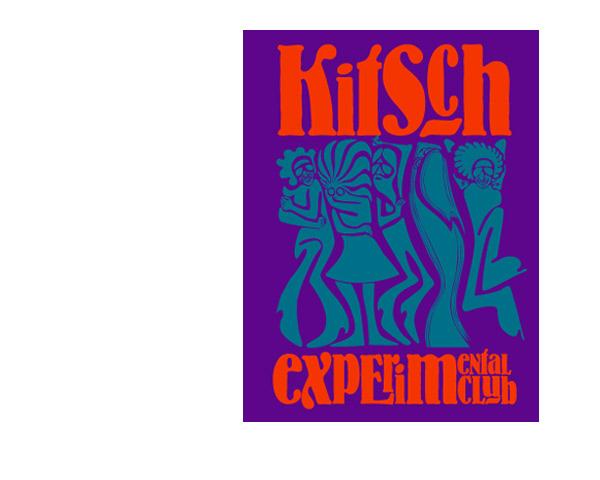 Kitsch experimental club: diseño de marca