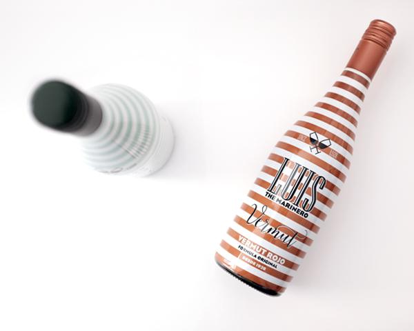 Diseño Packaging Vermut Luis The Marinero