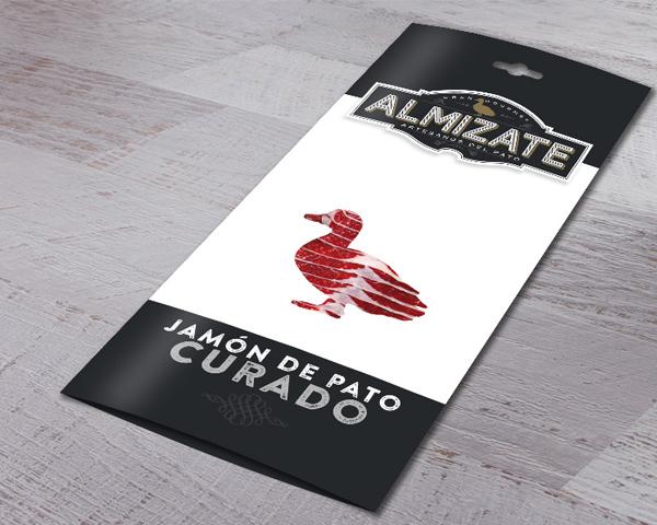 Almizate Packaging Jamón de Pato