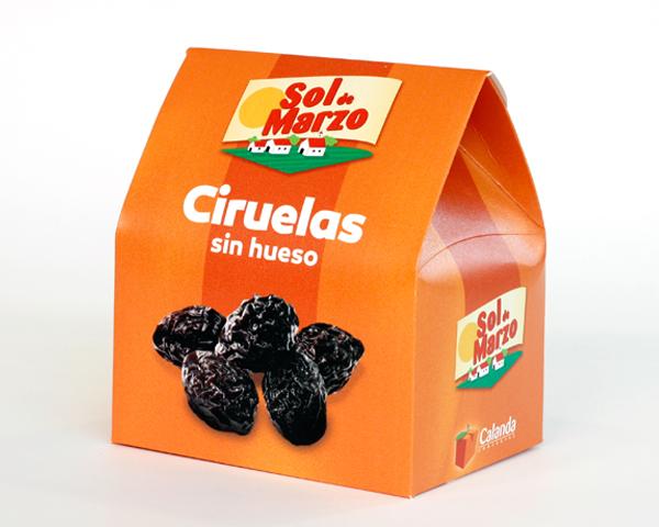 Packaging fruta desecada, Sol de Marzo