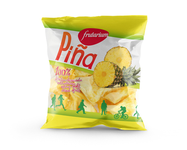 FRUTARIUM, Packaging de Fruta Desecada