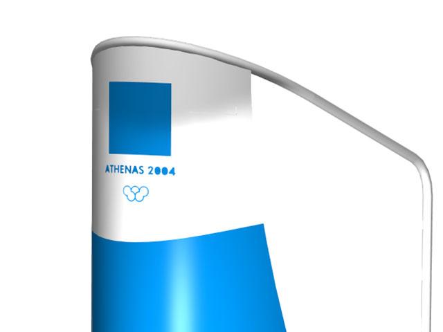 MONDO. Podium Juez de Salidas, para Juegos Olímpicos ATHENS 2004