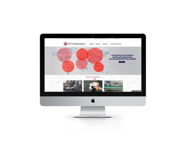 Metromecanica, Re-diseño web WordPress