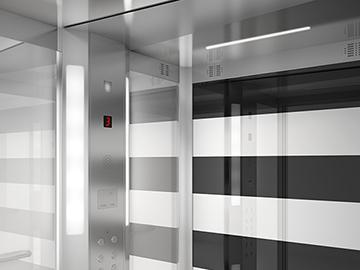 Gama de cabinas Design Edition. EMESA, diseño de producto