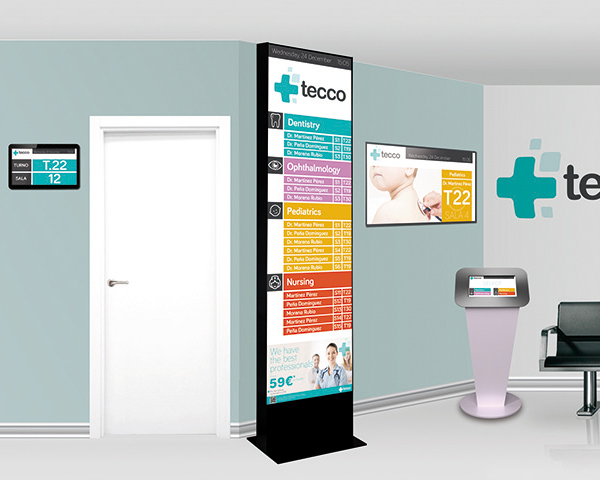 Diseño de Stand e interfaz feria Tecco