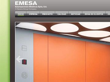EMESA. WEB y Configurador.