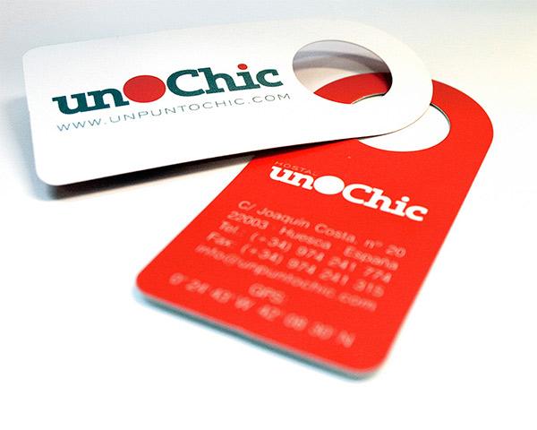 Un Punto Chic: diseño de marca