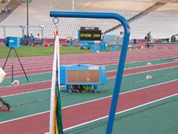 MONDO. Indicador de viento para Juegos Olímpicos ATHENS 2004