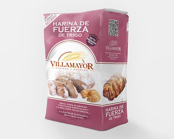 Packaging Harineras Villamayor, 1 kg.