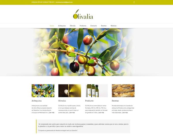 Aceite Olivalia Web