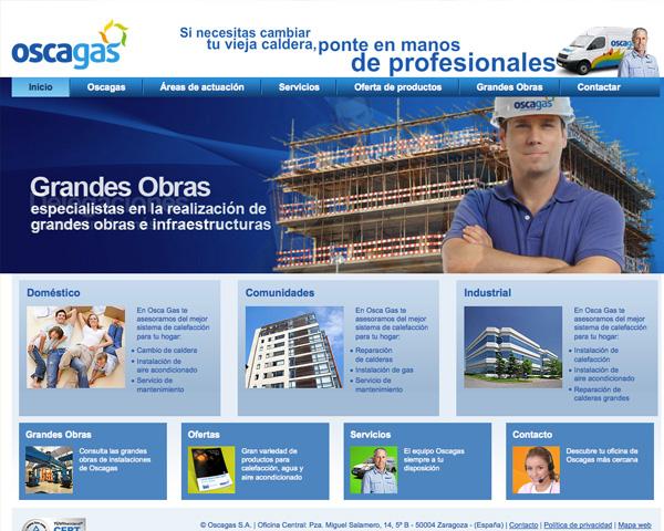 Oscagas: Nueva Web
