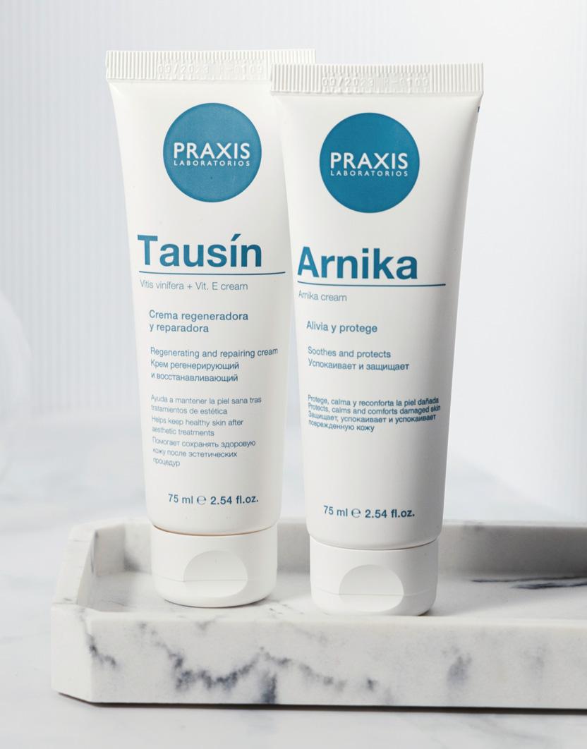 Praxis. Nueva gama de cremas reparadoras