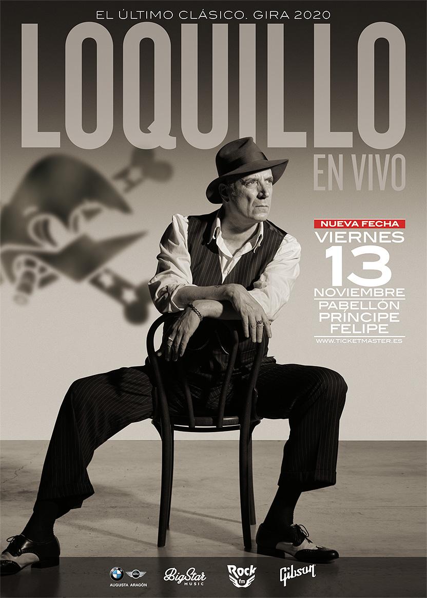 "Loquillo. Imagen Gira 2020 ""El Último Clásico"""